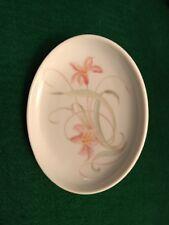 Liette Small Dish Soap Dish Peach Flowers