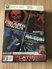 DOUBLE PACK GEARS OF WAR DEADRISING XBOX 360 NTSC J JAP NEUF BLISTER NEW SEALED