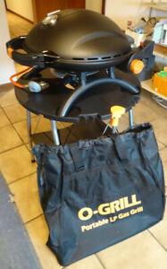 TGO Tischgrill O-3000 Balkongrill 50 mbar Camping Grill Gasgrill Minigrill BBQ