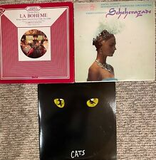 La Boheme Cats Scheherazade 3 Vinyl Records Collection