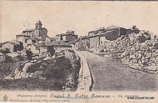 # CASTEL S. PIETRO ROMANO: VIA D'INGRESSO - 1910