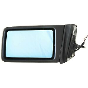 Manual Remote Mirror For 1986-1992 Mercedes Benz 300E Driver Side Paintable