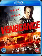 VENGEANCE - A LOVE STORY - BLU RAY  BLUE-RAY THRILLER