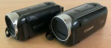Pair of Two Canon Vixia HFR400 Camcorders