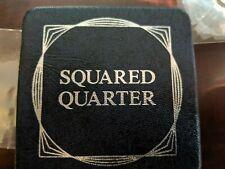 1984 Square Quarter Coin 99.9% Silver Washington Collector CoinSealed