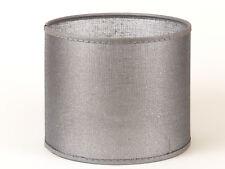 Lampenschirm Zylinder silber Netz  Hängelampe Deckenleuchte Tischleuchte modern