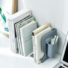 Retractable Bookend Book Stand Multifunction Book Folder Bookshelf Pen Z5V7