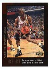 Michael Jordan 1999 Upper Deck RISE TO GREATEST MASTER MOVES Basketball Card