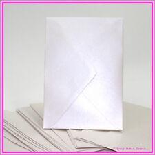 Metallic Pale Buff 5x7 Envelopes - Italian High Quality 130x185mm -Pack 25