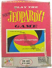 Jeopardy Game Fourth Edition Vintage 1964 Milton Bradley