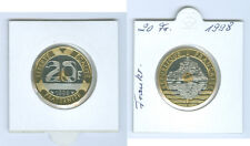 "France 20 francs 1998 ""Mont St Michel"" Tampon Brillance seulement 25.000 exemplaires!"