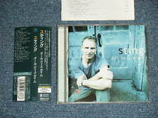 STING POLICE Japan 2001 NM CD+Obi ALL THIS TIME