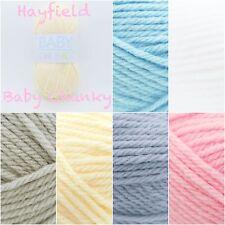 Hayfield Baby Chunky Soft Acrylic Knitting Crochet Yarn Wool 100g