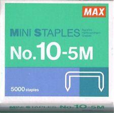 Max Flat Clinch Staples # 10-5m for Stapler HD-10FL 5000 Staples