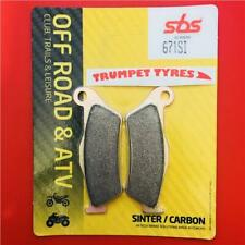 KTM SX-F 520 Racing 00 > 02 SBS Front Sinter Brake Pads EO QUALITY 671SI