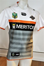 WEST TIGERS  ALTERNATE  JERSEY MATCH PLAYERS WITH  GRIPS  Sz LARGE