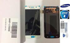 DISPLAY LCD + TOUCH SCREEN ORIGINALE SAMSUNG GALAXY S6 G920F SM-G920F BIANCO KIT