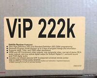 Dish Network VIP 222K HD High Definition Satellite Receiver dual TV output