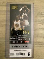 2017 NBA Finals Golden State Warriors vs Cleveland Cavs Game 1 Ticket Stub