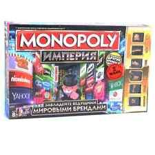 Russische Hasbro Spiel 2.Wahl Monopoly Imperium Big Business Topmarken der Welt