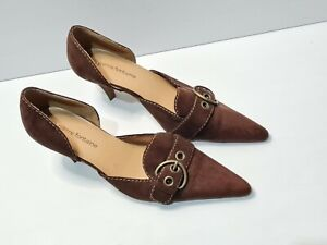 Pierre fontaine Heels Size 9.5 Brown Pointed Toe