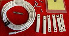 BSS Einbau Magnet Kontakt 4042.1 MK weiß 3,5 m Magnetschalter  3857