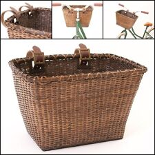 Vintage Bicycle Basket For Women Men Pet Dog Cat Storage Bike Carrier Pet NEW