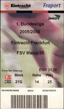 Ticket BL 2005/2006 Eintracht Frankfurt - FSV Mainz 05