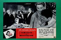 T09 Fotobusta Tormenta En Washington Otto Preminger Walter Pidgeon Henry Fonda 5