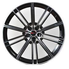 4 GWG Wheels 20 inch Black Machined FLOW Rims fits MERCURY MOUNTAINEER 2000-2010