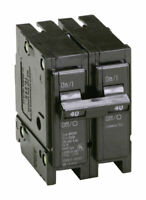 Eaton  Cutler-Hammer  40 amps Plug In  2-Pole  Circuit Breaker