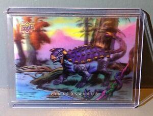 2015 Upper Deck Dinosaurs 3-D Lenticular Pinacosaurus #19 Trading Card