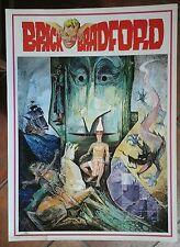 BRICK BRADFORD tavole domenicali a colori collana gertie daily 131 comic art