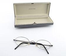 JACOB JENSEN Titanium Brille Mod. 556 C20 Oval Frame Denmark Silver + Case NEW