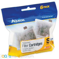 Aqueon QuietFlow E Replacement Filter Cartridge Small 6pk Fast Free USA Shipping