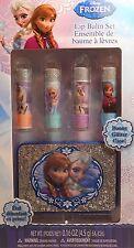 Lip Balm DISNEY FROZEN Sparkle Case Storage Fruity Flavors BX-S1
