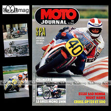 MOTO JOURNAL 564 HONDA CB 650 SC NIGHT HAWK GRAND PRIX BELGIQUE SWM XN 1982