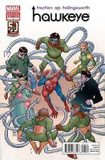MATT FRACTION HAWKEYE #1 SPIDER-MAN 50th Anniversary VARIANT COVER!