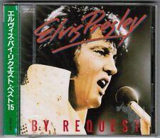 Sealed! ELVIS PRESLEY By Request JAPAN CD w/Fold-Into OBI+PS R32P-1011 Press '86