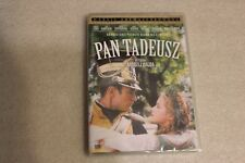 Pan Tadeusz DVD POLISH RELEASE SEALED ENGLISH SUBTITLES