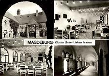 MAGDEBURG Sachsen-Anhalt DDR Mehrbild-AK ungelaufen Kloster Unser Lieben Frauen