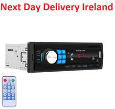 Bluetooth Car In-Dash FM Radio Stereo Audio Receiver MP3 Player SD/USB Aux Input