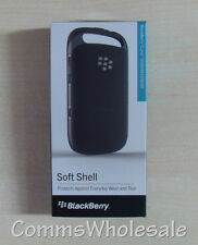 Genuine Blackberry Curve 9320 9310 9220 Black Soft Shell ACC-46602-201 - NEW