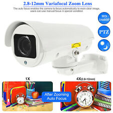 4IN1 4x Zoom HD 1080P PTZ AHD TVI CVI Analog CVBS 2.1MP IR Motorized Lens Camera