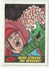 2017 Topps Mars Attacks The Revenge ! Martian Sketch Card by Bobby Blakey