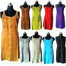 Lot 10 pc Stone Wash Hippie new Midi Top Indian Beach/ Summer Wear Wholesale