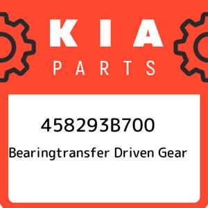 458293B700 Kia Bearingtransfer driven gear 458293B700, New Genuine OEM Part