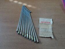 NOS OEM Honda Rear Spoke B Set Of 10 9x138 1978-80 CM185T CM200T 97285-52116-10