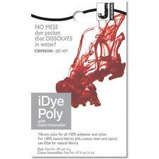 Jacquard iDye Poly Crimson - fabric dye for synthetic fibers (polyester, nylon)