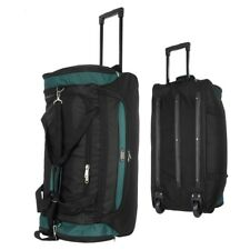 "22""/30""/36 Rolling Wheeled Duffel Bag Travel Duffle Suitcase Luggage Polyester"